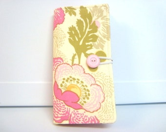 12 - 38 Slot Card Loyalty Card Organizer, Business Card Holder  Credit Card Wallet Amy Butler Midwest Modern