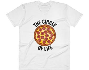 The Circle of Life Pizza Shirt for Pizza Lovers