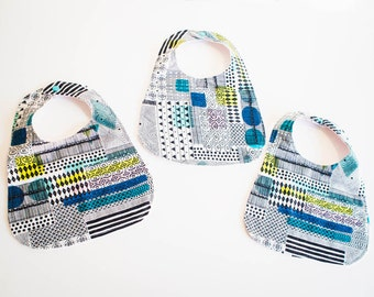 Modern Flannel Baby Bibs  (Free Shipping)