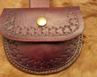 Leather Possibles Pouch