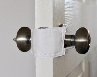2 Clever Covers Door Knob Cover Crochet Safety Cover