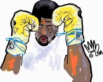 Anthony Joshua (Heavyweight Boxer) Vibrancy