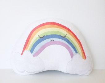 Rainbow, Nursery Pillow, Rainbow Baby, Rainbow Pillow, Kids Pillow, Rainbow Baby Gift, Kids Gift, Girl Gift, Boy Gift, Rainbow Cushion