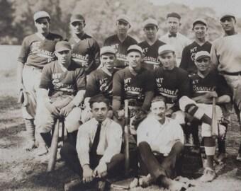 Vintage Baseball Team Picture