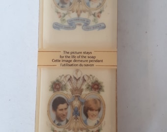 vintage Vintage Soap original box packaging Charles Diana Royal Wedding commemorative soap