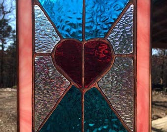Stained Glass Valentine - Gift Idea