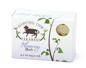 Flowering Herb soap