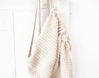 Retro Sweater Hobo Bag, Boho Chic Hobo Purse