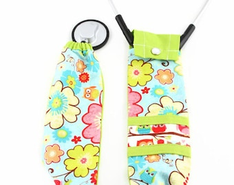 Stethoscope Cover, Stethoscope Covers, Nursing Student, Stethoscope Accessories, Medical Student, Student Nurse, Scrubs, Owl Fabric, Gift