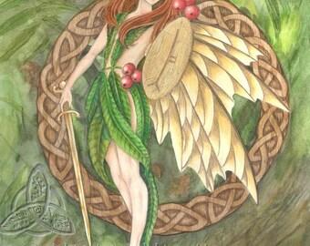 Rowan Tree Fairy Open Edition Print