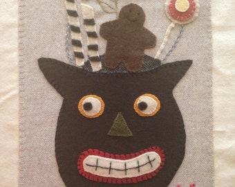 Scaredy cat bucket woolen