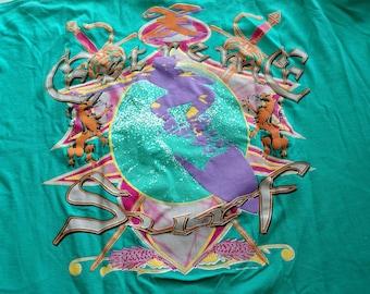 Vintage extreme attitude sports surfing t-shirt