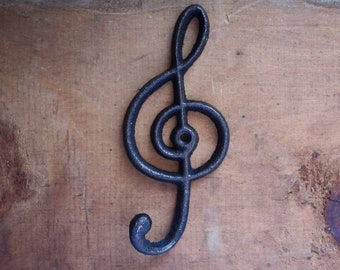 Treble Clef Hook, Music Hook