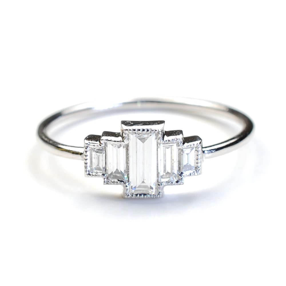 baguette semi carats band ring rings the karat carat gold products engagement diamond white with eternity fixed
