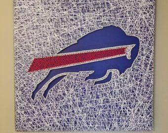 Buffalo Bills String Art