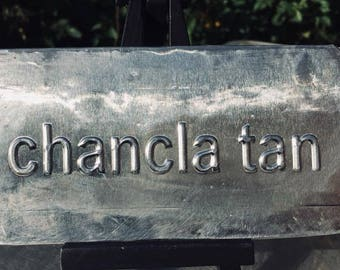 chancla tan