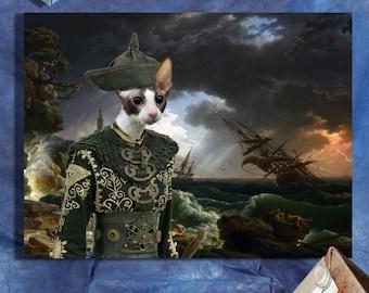 Cornish Rex - Cornish Rex Cat Fine Art Canvas Print