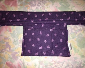 Childrens Shopping Cart Cover, Cart Handle Cover, Cart Cover, Shopping Cart Covers, purple  Print Cart Cover, Shopping Handy Car