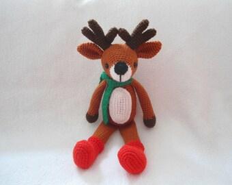 Amigurumi deer crochet pattern