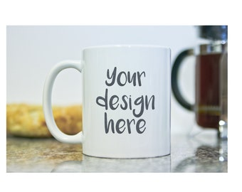 Design Your Own Mug - Personalized Coffee Mug - Customized Coffee Mugs