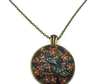 That birdie told me necklace