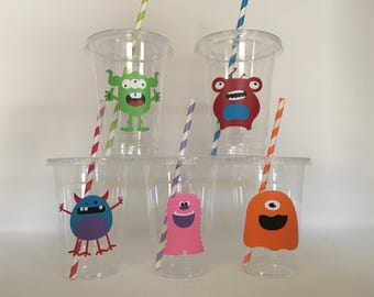 Monster party cups