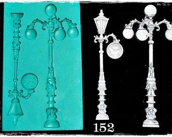Vintage Street Lights 152.....Silicone Mould