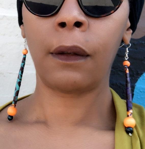 Ankara Doobie Earrings