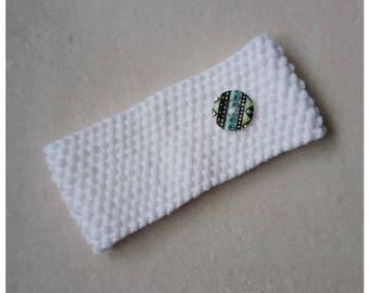 Handmade knit headband - size teen / adult approx.