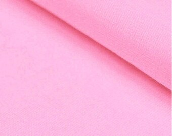 Light Pink Ribbing Stretch fabric for cuffs and waistbands
