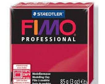 Carmine red Fimo Pro 85gr