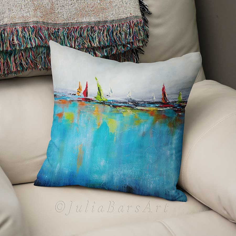 throw painting accessories pillows covers furniture ring wedding coastal pearl theme with blanket beach nautilus shell bearer pillow sea gallery white sofa cushion fabric