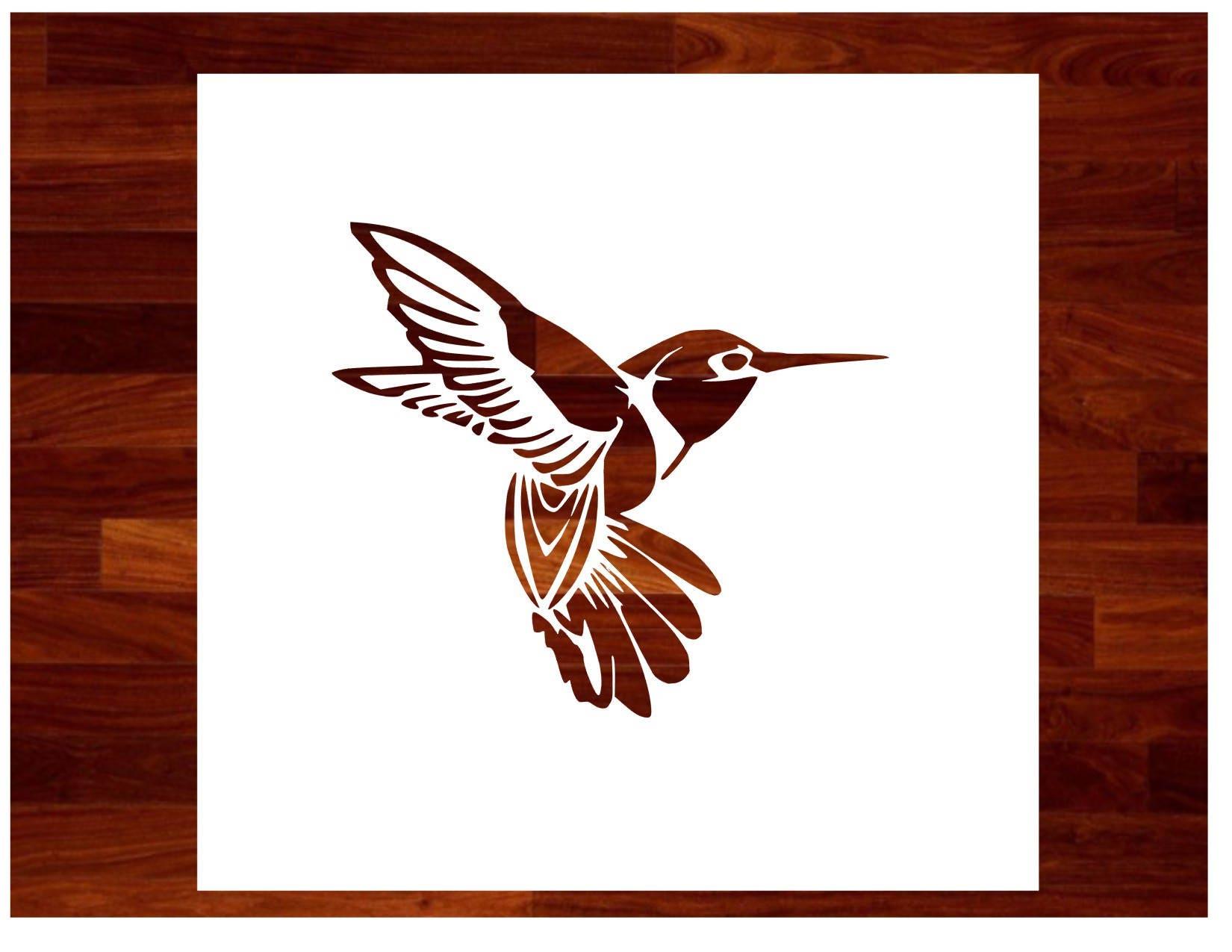 Hummingbird Custom Stencil