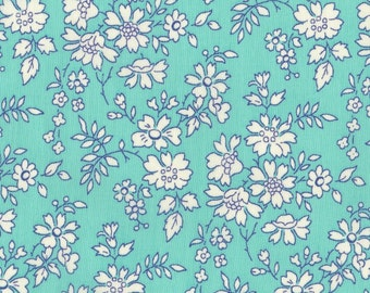 Liberty Fabric Tana Lawn, Liberty London Capel 9''x26''-  Fat Eighth