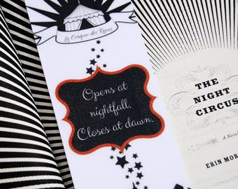 Night Circus Bookmark