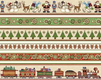 Santa is Coming to Town - Per Yard - Quilting Treasures