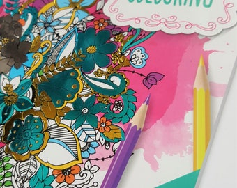 Coloring Book for Adults - Creative Colouring - 128 Designs