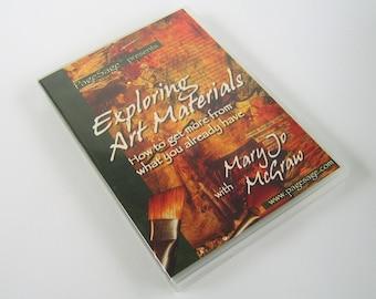 Craft DVD Exploring Art Materials Mary Jo McGraw