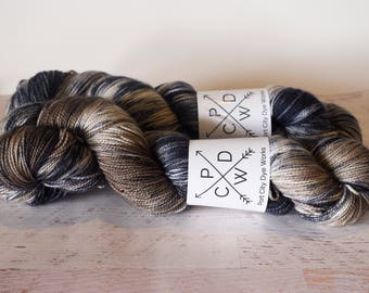 Ol' Chief Slac - Alabama Sock 80/20 Superwash Merino/Nylon - hand dyed yarn - Ready to ship