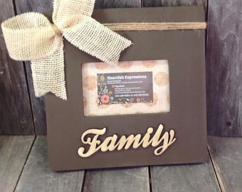 Family 4x6 Picture Frame