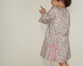 PDF Sewing Pattern - Smock dress for 3Y - Baby and kids