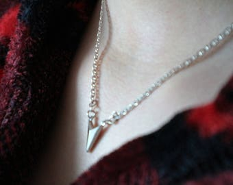 Sterling Silver 'Arrowhead'.