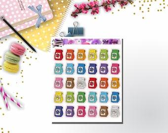Multicolor Set Stickers