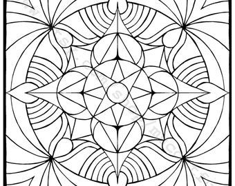 Coloring Page (Frequency)
