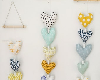 Sewn heart strands
