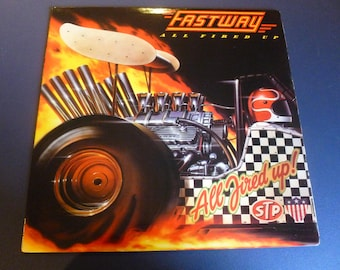 On Sale! Fastway All Fired Up! Vinyl Record LP BFC 39373 Columbia Records  1984