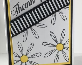 Thank You Daisies, card, stampin up