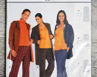 Pouch pattern Burda 8783 - pants women