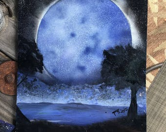 Blue Moon (prints)