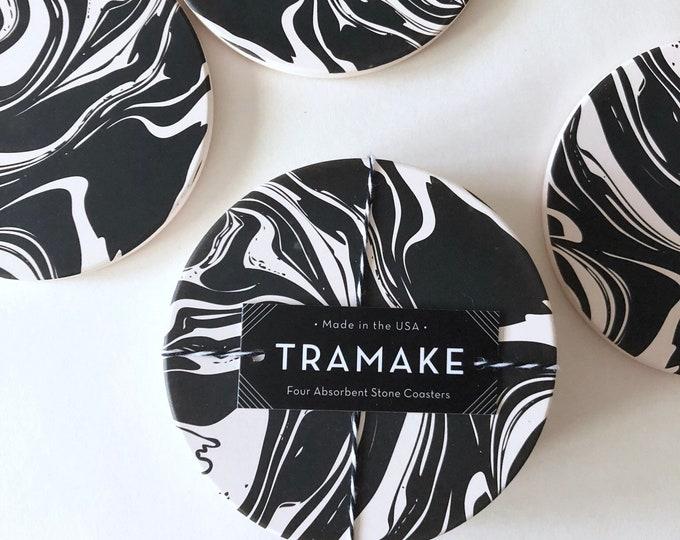 MARBLE caramic coasters